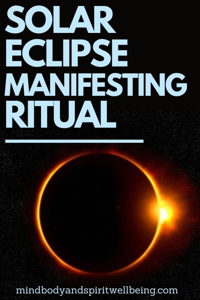 solar eclipse manifestation, solar eclipse ritual