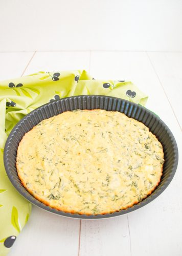 Low Carb Spanakopita Recipe, Low Carb Spinach Quiche