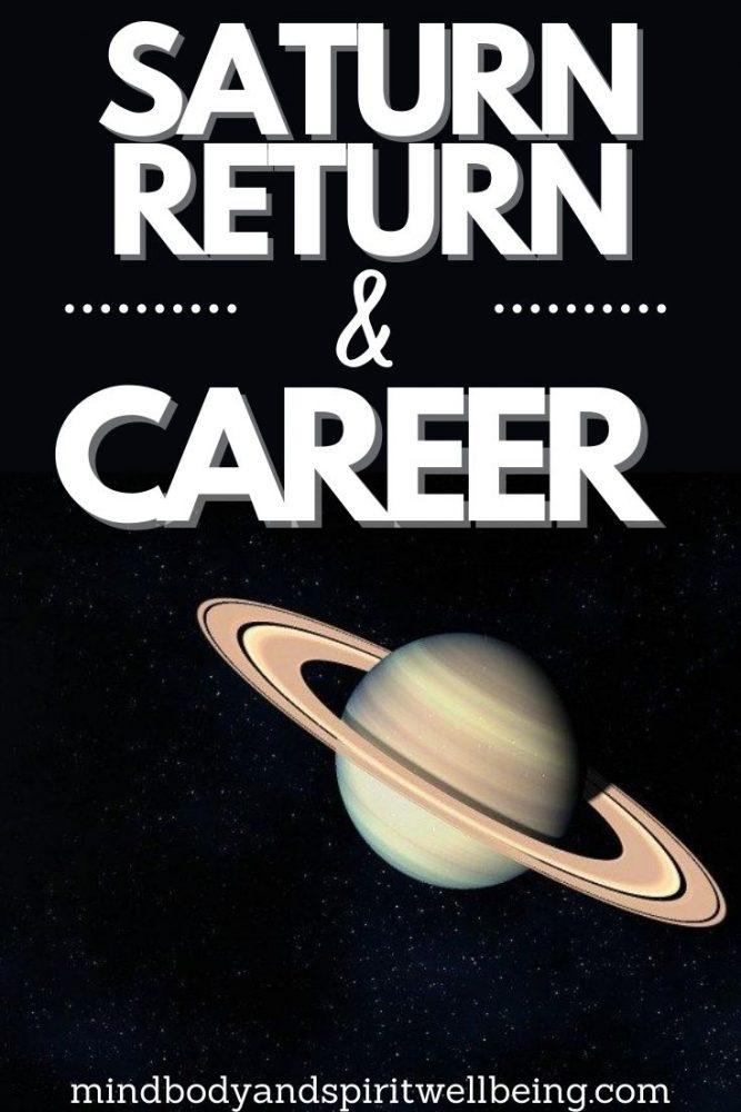Saturn return career change, Saturn return midlife crisis