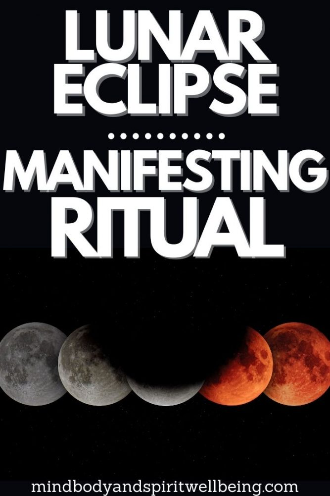 manifestation during lunar eclipse, demanifestation ritual