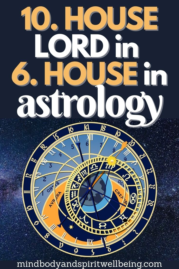 10th house lord in sixth house, tenth house lord in 6th house profession