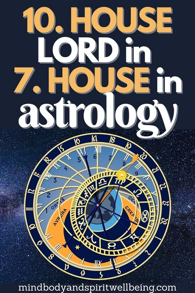 10th house lord in seventh house, tenth house lord in 7th house profession